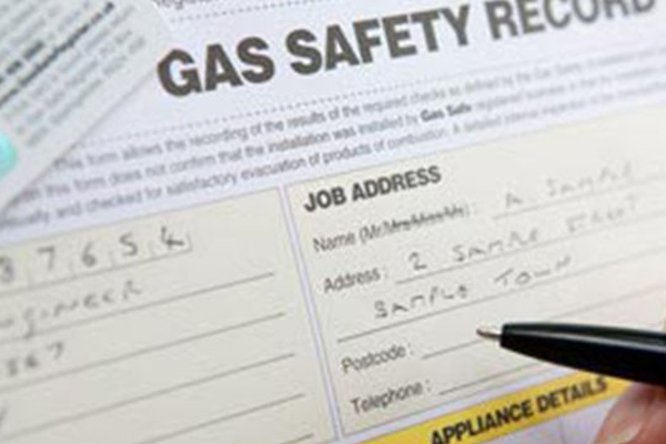 Gas safety certificate for landlords